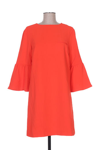 cubic robes femme de couleur rouge