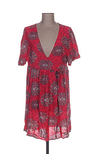 jubylee tuniques femme de couleur rose