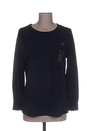 free for humanity t-shirts femme de couleur noir