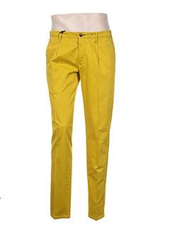 Pantalon casual jaune MMX pour homme