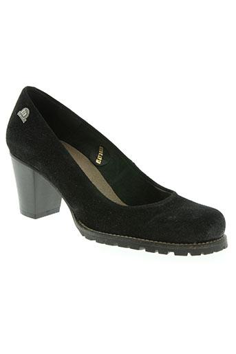 mtng chaussures femme de couleur noir