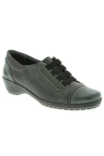 suave chaussures femme de couleur gris
