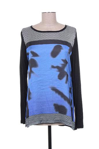 telmail chemises femme de couleur bleu