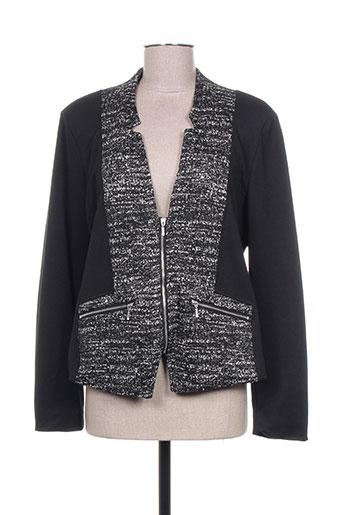 Veste chic / Blazer noir BRANDTEX pour femme