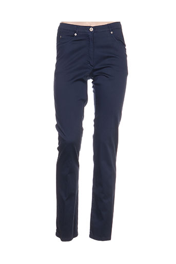 meri EFFI_CHAR_1 esca pantalons femme de couleur bleu