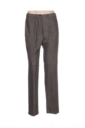 france rivoire pantalons femme de couleur gris