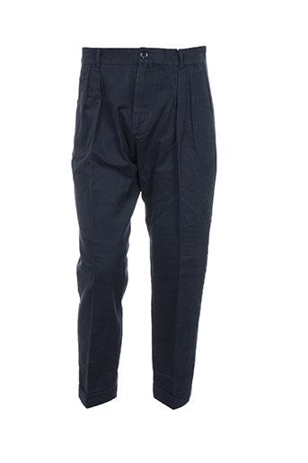 Pantalon casual bleu SAMSOE & SAMSOE pour homme