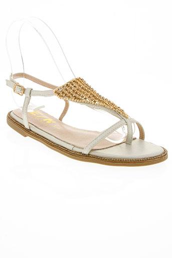 elue par nous chaussures femme de couleur beige