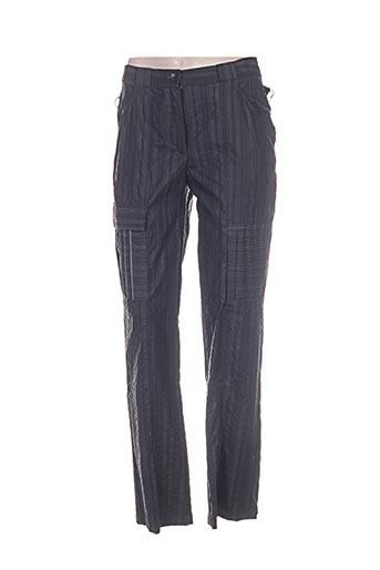 Pantalon casual gris CAROLE RICHARD pour femme