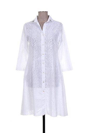 gaia boldetti robes femme de couleur blanc