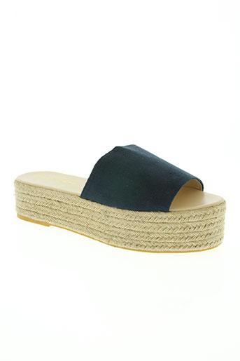 alcott chaussures femme de couleur bleu