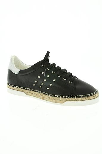 canal st martin chaussures femme de couleur noir