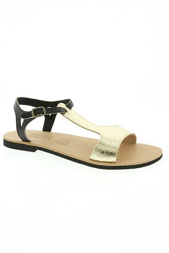 massalia chaussures femme de couleur jaune