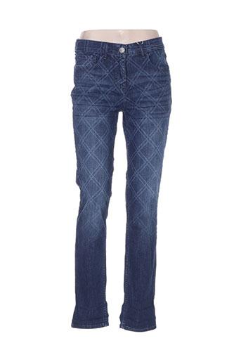 cecil jeans femme de couleur bleu