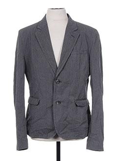 Veste casual gris DOLCE & GABBANA pour homme