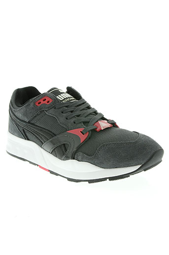 puma chaussures homme de couleur gris