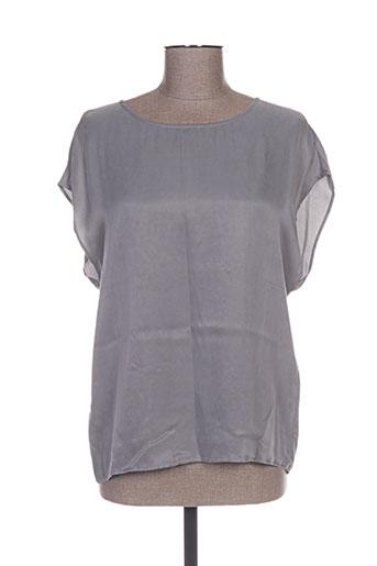 yaya chemises femme de couleur gris