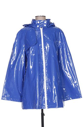 on parle de vous manteaux femme de couleur bleu