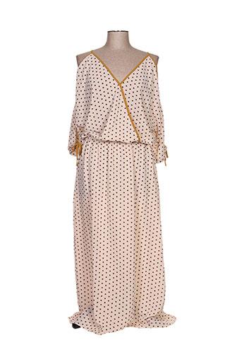 chattawak robes femme de couleur beige