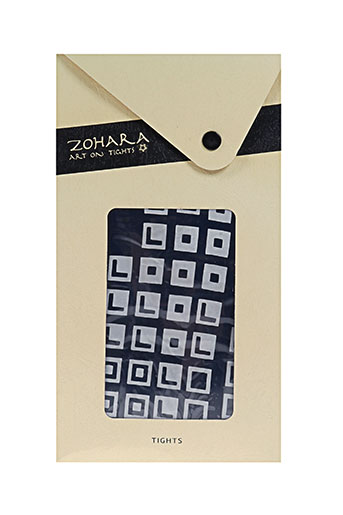 Collants bleu ZOHARA pour femme