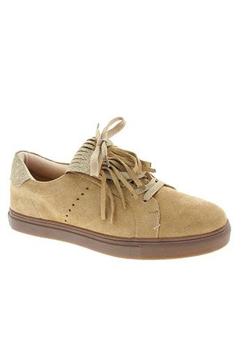 vanessa wu chaussures femme de couleur beige
