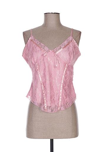 louna chemises femme de couleur rose