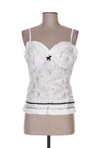 louna chemises femme de couleur blanc