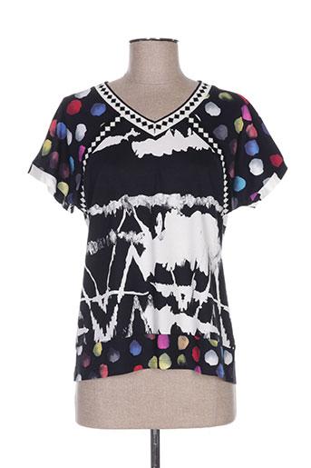 olivier philips chemises femme de couleur noir