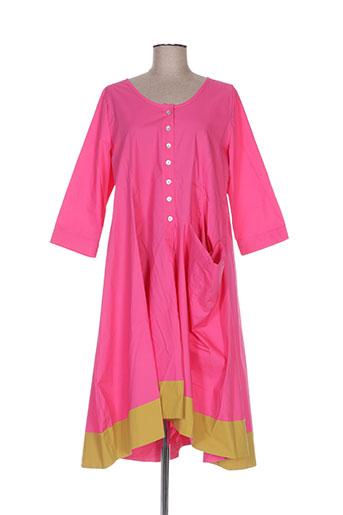 alembika robes femme de couleur rose