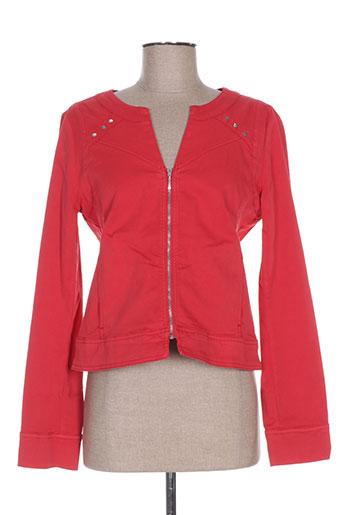 Veste casual rouge PAUL BRIAL pour femme