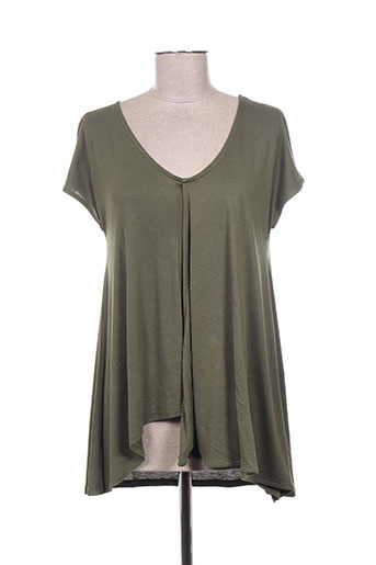 concreto t-shirts femme de couleur vert