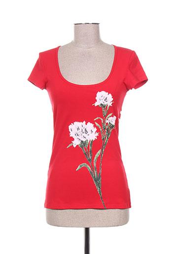isabel de pedro t-shirts femme de couleur rouge