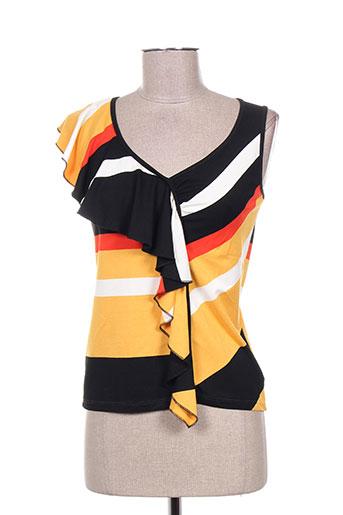 isabel de pedro t-shirts femme de couleur jaune