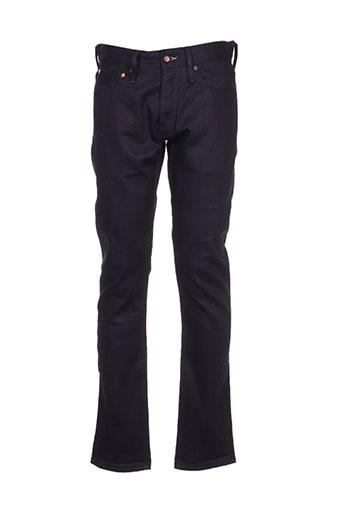 denham jeans homme de couleur bleu