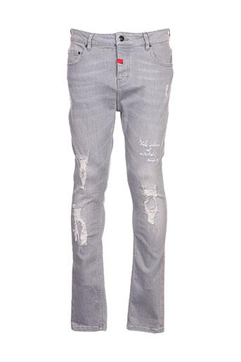 alexander pap jeans homme de couleur gris