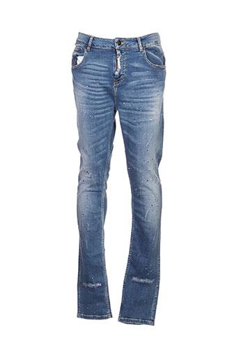 alexander pap jeans homme de couleur bleu