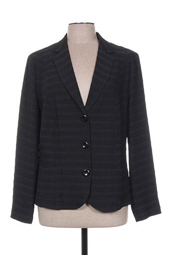 lebek vestes femme de couleur noir