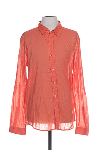 crossby chemises homme de couleur orange