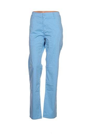 leeyo jeans pantalons homme de couleur bleu