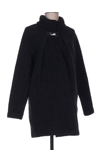 balloon manteaux femme de couleur noir