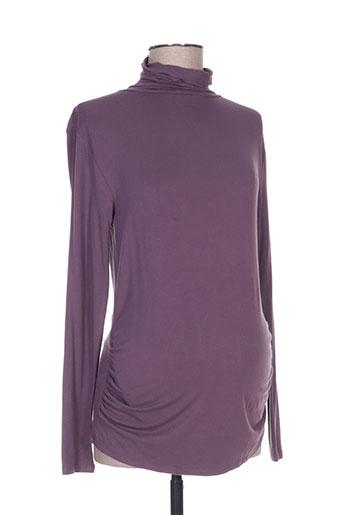 seraphine pulls femme de couleur violet