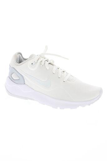nike chaussures femme de couleur blanc
