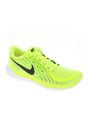 nike chaussures homme de couleur vert