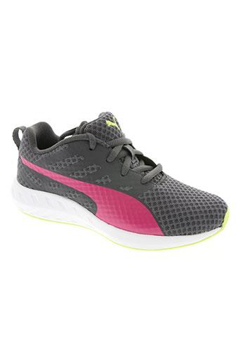 puma chaussures femme de couleur gris