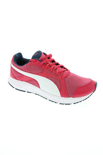 puma chaussures femme de couleur rose