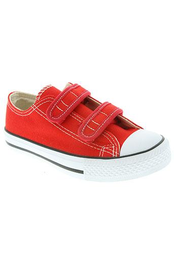 beppi chaussures enfant de couleur rouge