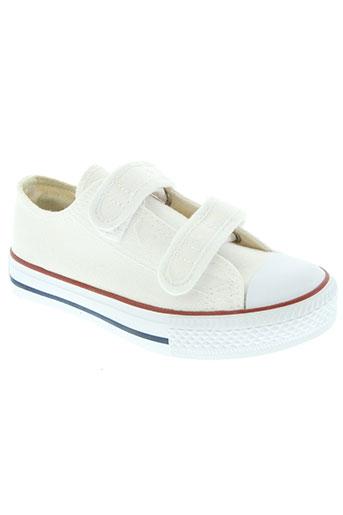 beppi chaussures enfant de couleur blanc