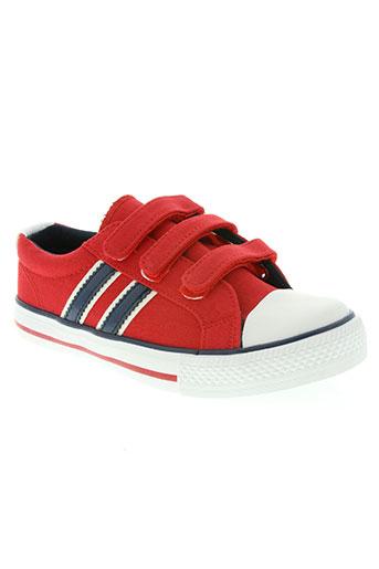 beppi chaussures garçon de couleur rouge