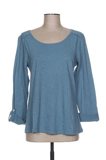 mistral t-shirts femme de couleur bleu