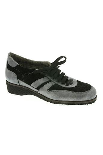 alexandria chaussures femme de couleur noir